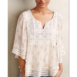 Anthropologie Meadow Rue Blouse